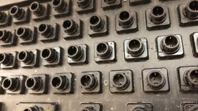 キーボード内部の拡大写真1